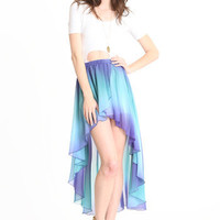 Water Lily Tie Dye Skirt - $38.00 : ThreadSence.com, Your Spot For Indie Clothing & Indie Urban Culture