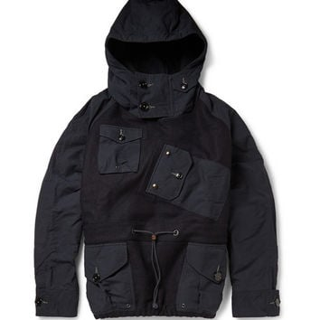 J.Crew - Canoe Wool-Felt Hooded Pullover Jacket | MR PORTER
