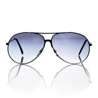 Black Mens Aviator Frame Tom Sunglasses / Free Ship USA