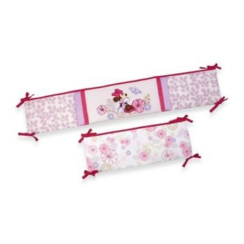 Disney Baby Butterfly Dreams 4-Piece Crib Bumper