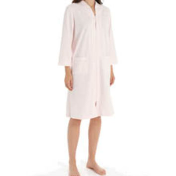 Miss Elaine 361424 Silkyknit French Terry Robe