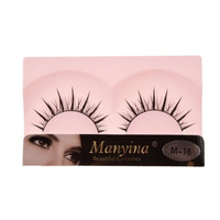 So Beauty Manyina New 10 Pairs Natural Black Long Fake False Eyelashes Top Quality Eye Lash Makeup M-16
