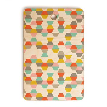 Heather Dutton Hex Code Cutting Board Rectangle