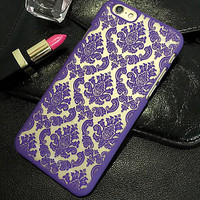 Hollow Out Floral Case for iPhone 5s 6 6s Plus
