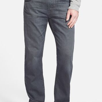 AG 'Graduate' Tailored Straight Leg Jeans ,