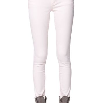 Bullhead Denim Co Low Rise Rose Skinniest Jeans - Womens Jeans - Red -