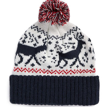 REINDEER FAIRISLE BEANIE - Hats - Shoes and Accessories - TOPMAN USA