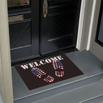 Patriotic Steps Doormat