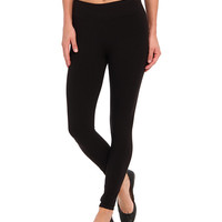HUE Ultra Leggings w/ Wide Waistband