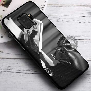 Darth Vader Reading Harry Potter iPhone X 8 7 Plus 6s Cases Samsung Galaxy S9 S8 Plus S7 edge NOTE 8 Covers #SamsungS9 #iphoneX