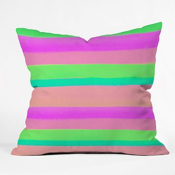 Rebecca Allen Summers Rave Throw Pillow