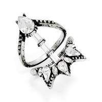 Women's BaubleBar 'Satirius' Ring - Silver
