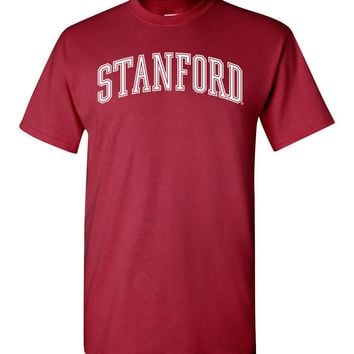 Official NCAA Stanford University Cardinal SU The Stanford Tree ALL RIGHT NOW! Short-Sleeve T-Shirt - stan1001-a