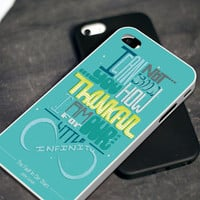 The Fault in Our Stars Quotes 2 - iPhone 4 4S iPhone 5 5S 5C and Samsung Galaxy S3 S4 Case