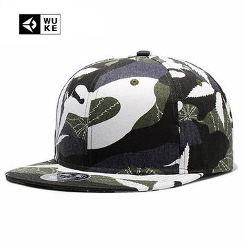 Trendy Winter Jacket [Wuke] Adult New Multicam Sewing Baseball Caps Hip Hop Men Women Wild Hats Spring Summer Autumn Camo Geometric Hot Snapback Hat AT_92_12