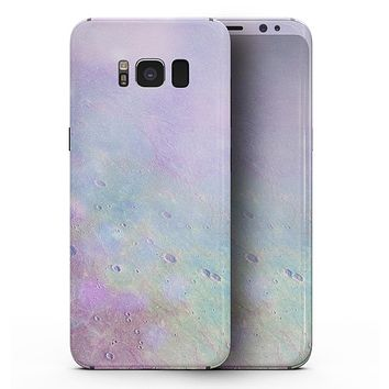 The Tie-Dye Cratered Moon Surface - Samsung Galaxy S8 Full-Body Skin Kit