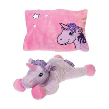 Unicorn Peek-a-Boo Pillow