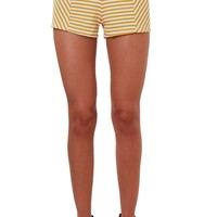 Zoey Striped Shorts - High Waisted Mini Shorts - Humblechic.com