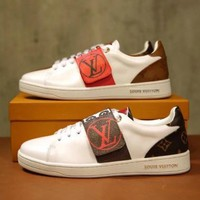 LV LOUIS VUITTON Woman Men Casual Old Skool  Sneakers Sport Shoes