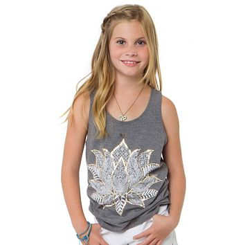 O'Neill Girls - Lovely Lotus Tank | Gray