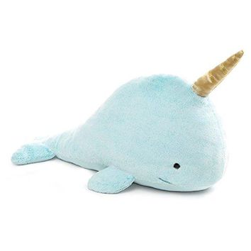 GUND Nori Narwhal Stuffed Animal Plush, Blue, 12""