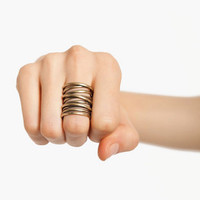 Coiled Up Ring $11