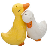 Ducks Cuddling Salt & Pepper Shakers