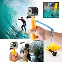 2016 New Floaty Floating Hand Grip Handle Mount Accessory Float+Strap For GoPro Hero 3+3 2 1 Go pro Accessories
