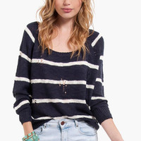 College Ruled Sweater $36