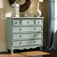 Blue Distressed Chest | Kirkland's