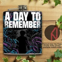 A ay To Remember Homesick 6oz Hip Flask