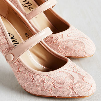 Lady of the Luncheon Heel | Mod Retro Vintage Heels | ModCloth.com