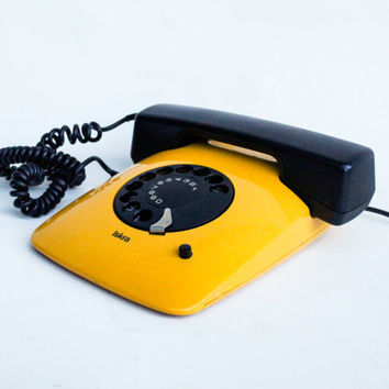Original Rotary Telephone ETA 80 by Iskra