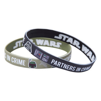 Star Wars Partners In Crime Rubber Bracelet 2 Pack