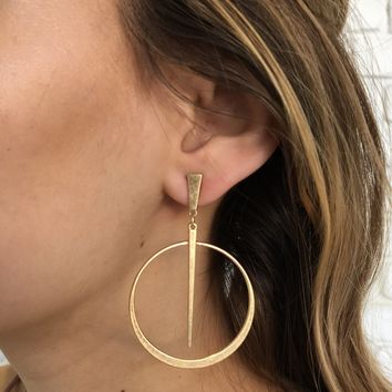 Slow Dance Earrings in Gold