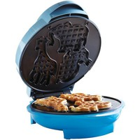 BRENTWOOD TS-253 Electric Food Maker (Animal-Shapes Waffle Maker)