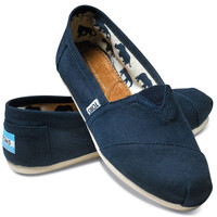NAVY CANVAS WOMEN'S CLASSICS
