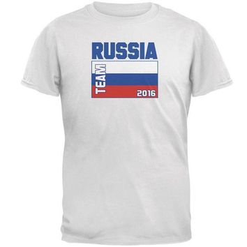 ICIKIS3 Summer Olympics Team Russia Mens T Shirt