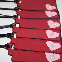 Valentines Day Tags - Valentines Gift Tags - Set of 6