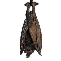 Upside Down Latex Bat Decoration - Spencer's