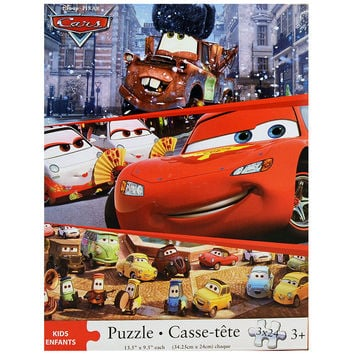 Disney Pixar Cars 3-in-1 24 Piece Puzzle Set