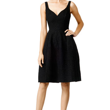 Jill Jill Stuart Jet Black Dress