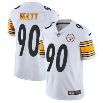 KUYOU Pittsburgh Steelers Jersey - T.J. Watt White Vapor Untouchable Limited Jersey - Men's