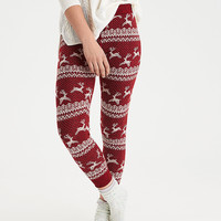 AEO Sweater Legging, Burgundy