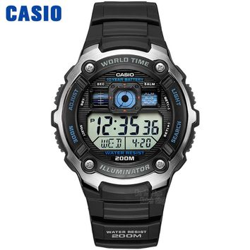 Casio Watch Outdoor Sports Waterproof Quartz Men's Watch AE-2000W-1A AE-2000WD-1A