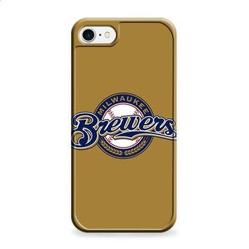 BREWERS BASEBALL LOGO GOLD iPhone 6 | iPhone 6S case
