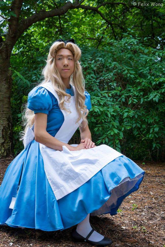 Alice In Wonderland Inspired Costume Set From Allengale On
