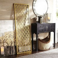 Trellis Golden Wall Panels