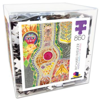 Ceaco Deluxe 850 Piece - Richard Welker Healing Images of the Soul 1