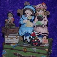 "San Francisco Music Box ""Cherish the Thought"" Music Box by Marjorie Sarnat"